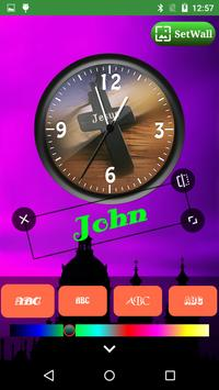 Jesus Clock Live Wallpaper, Photo Editor screenshot 13