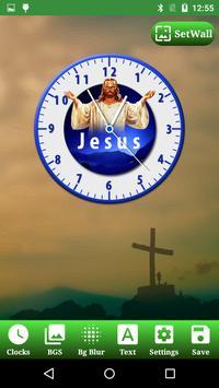 Jesus Clock Live Wallpaper, Photo Editor screenshot 10