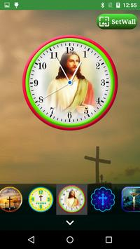 Jesus Clock Live Wallpaper, Photo Editor screenshot 11