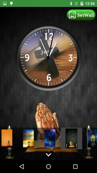 Jesus Clock Live Wallpaper, Photo Editor screenshot 12
