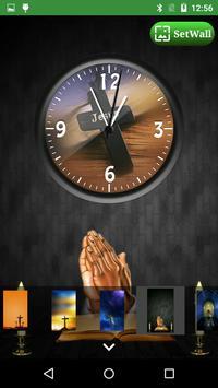 Jesus Clock Live Wallpaper, Photo Editor screenshot 12