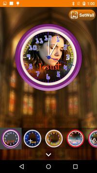 Jesus Clock Live Wallpaper, Photo Editor screenshot 15