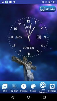 Jesus Clock Live Wallpaper, Photo Editor screenshot 16