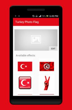 Turkey Photo Flag Editor poster