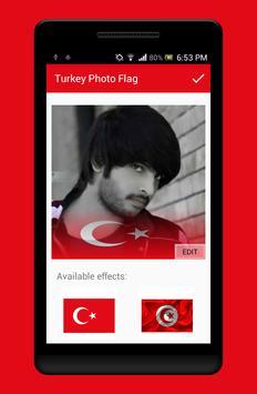 Turkey Photo Flag Editor screenshot 2
