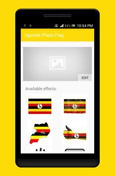Uganda Photo Flag Editor poster