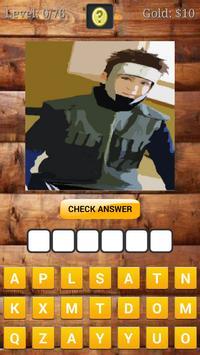 Ninja Anime Cosplay Quiz apk screenshot