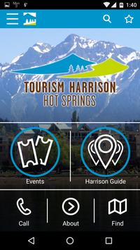 Tourism Harrison Hot Springs screenshot 1