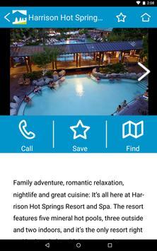 Tourism Harrison Hot Springs screenshot 7