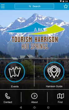 Tourism Harrison Hot Springs apk screenshot
