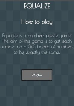 Equalize game apk screenshot