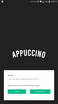 Appuccino Pour poster