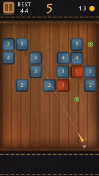 Balls Of Wood - Endless Brick Breaking Puzzle Game poster