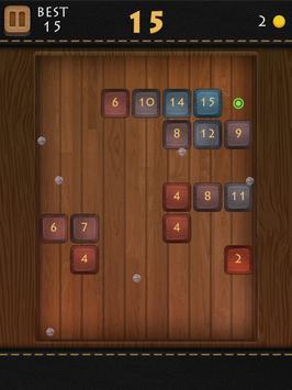 Balls Of Wood - Endless Brick Breaking Puzzle Game screenshot 15