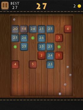 Balls Of Wood - Endless Brick Breaking Puzzle Game screenshot 16