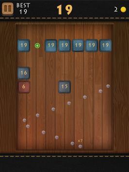 Balls Of Wood - Endless Brick Breaking Puzzle Game screenshot 13