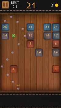 Balls Of Wood - Endless Brick Breaking Puzzle Game screenshot 2
