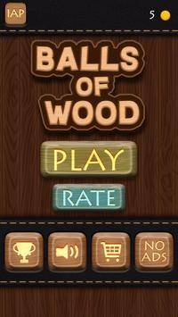 Balls Of Wood - Endless Brick Breaking Puzzle Game screenshot 3