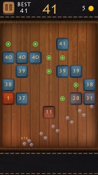 Balls Of Wood - Endless Brick Breaking Puzzle Game screenshot 4