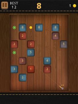 Balls Of Wood - Endless Brick Breaking Puzzle Game screenshot 6