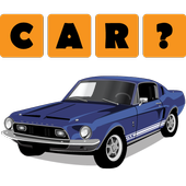 Car Quiz - Guess Missing Word icon
