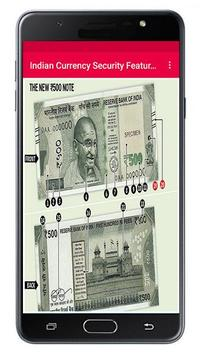 Indian Currency Security Features poster