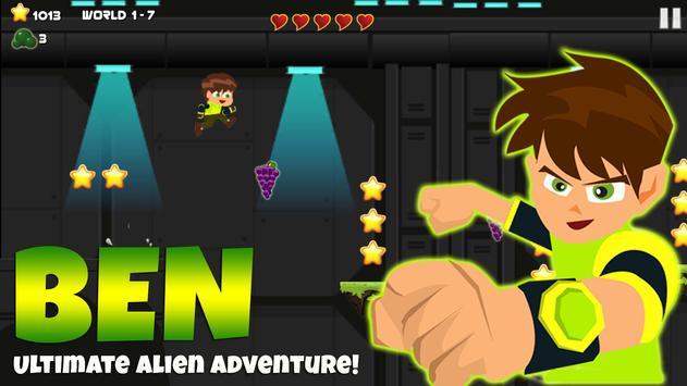 👽 Ben Ultimate Alien Adventure poster