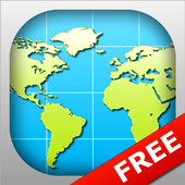 World Map 2018 FREE icon