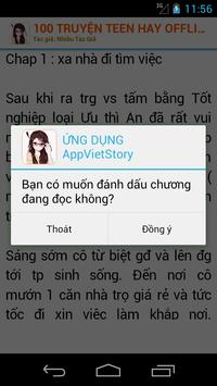 100 Truyện Teen Hay Nhất OFF screenshot 5