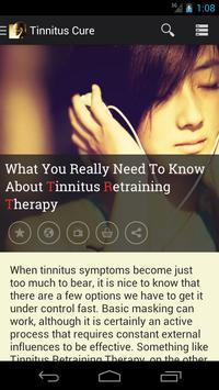 Tinnitus: The Cure poster