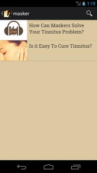Tinnitus: The Cure apk screenshot