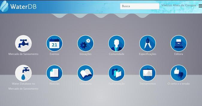 Biblioteca WaterDB apk screenshot