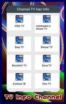 Channel TV Iran Info poster