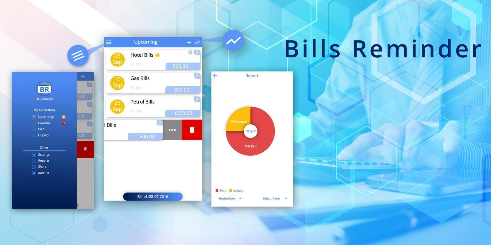 Rechnung Erinnerung Rechnung Manager Für Android Apk Herunterladen