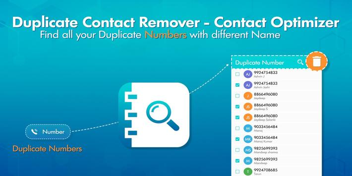 Duplicate Contacts Remover poster