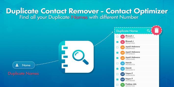 Duplicate Contacts Remover screenshot 1