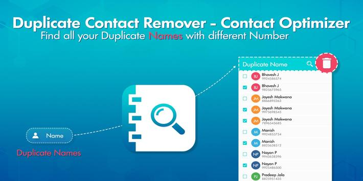 Duplicate Contacts Remover screenshot 1