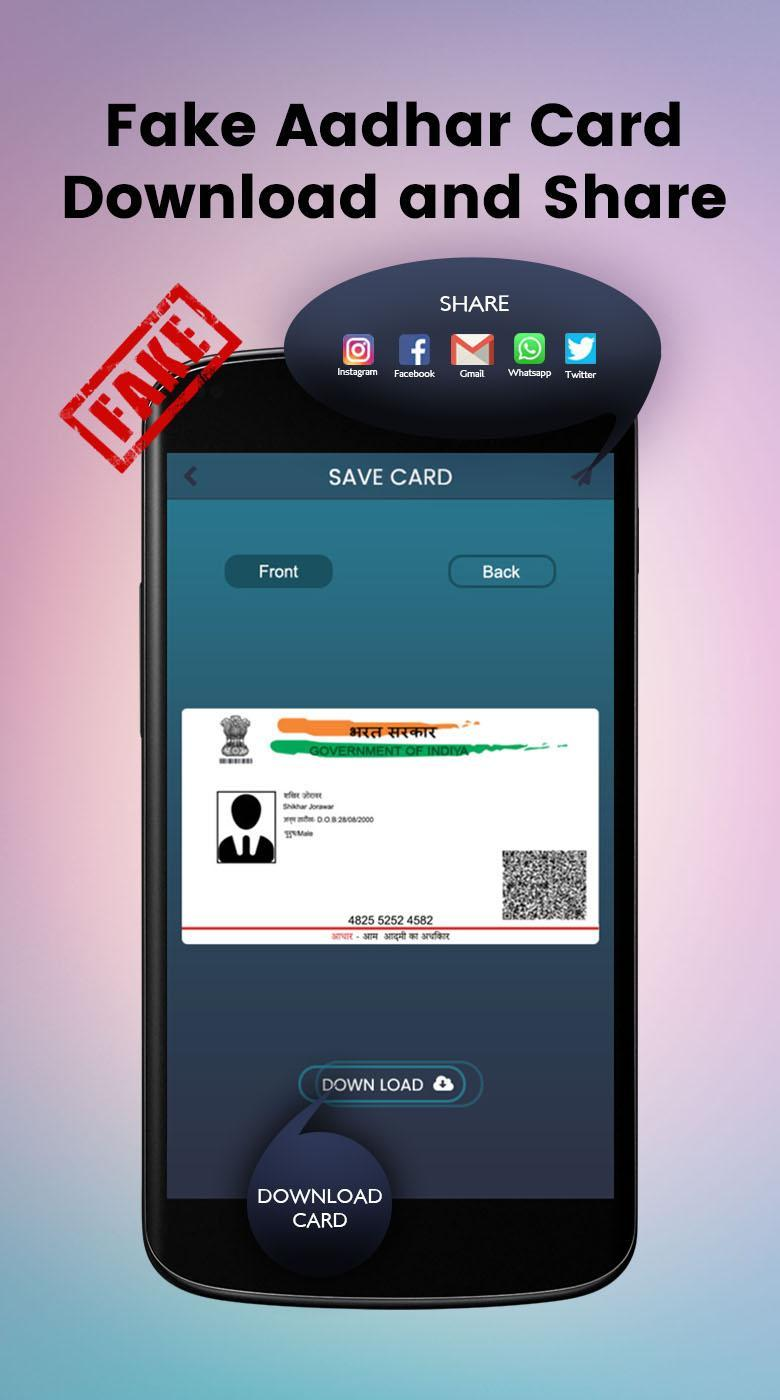 Fake ID Maker for Android - APK Download