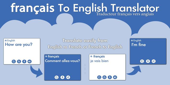 French English Translator - French Dictionary poster