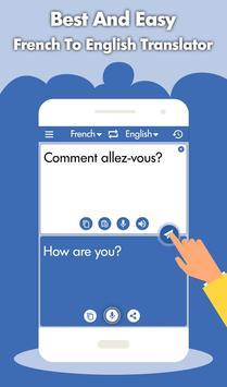 French English Translator - French Dictionary screenshot 1