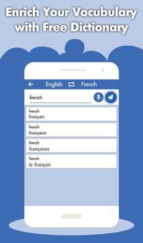French English Translator - French Dictionary screenshot 2