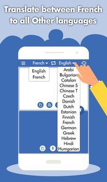 French English Translator - French Dictionary screenshot 4
