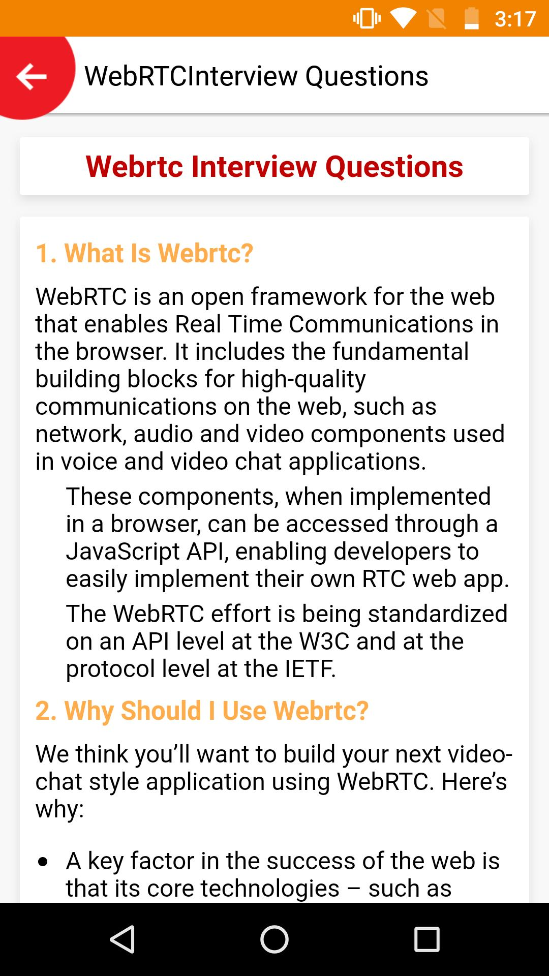 WebRTC Tutorial for Android - APK Download