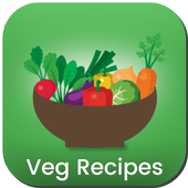 7500+ Veg Recipes Free icon