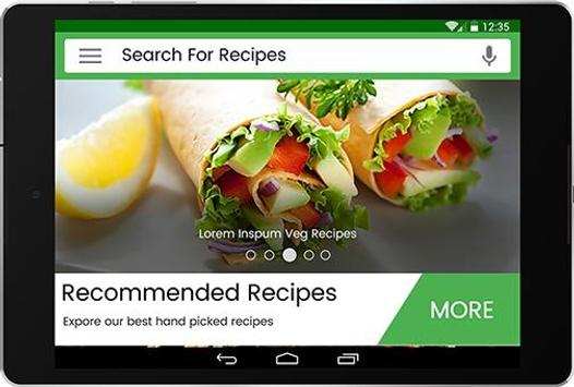 7500+ Veg Recipes Free apk screenshot