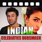 Indian Celebrities Dubsmash icon