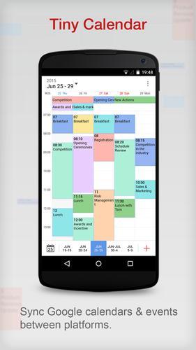 Tiny Calendar.Tiny Calendar For Android Apk Download