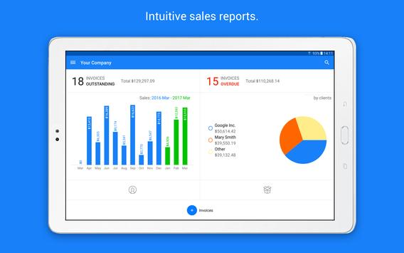 invoice maker tiny invoice apk screenshot - Invoice Maker