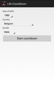 Life Countdown screenshot 1