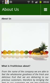 Fruitlicious poster
